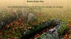 """Próxima presentación del libro """"Arqueología, paisaje y territorio post-romano. Las tumbas excavadas en roca en el occidente del Campo de Ciudad Rodrigo (Salamanca)"""""""