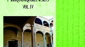 Presentación de un nuevo volumen de Estudios Mirobrigenses