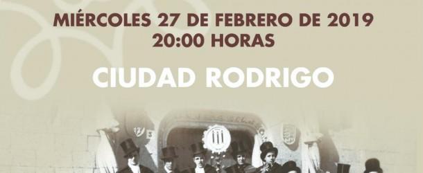 """Presentación del libro """"Canciones para Carnaval. Ciudad Rodrigo 1944-1964″"""