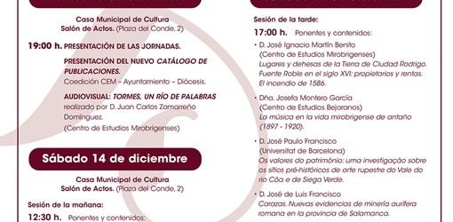 Convocadas las XII Jornadas de Historia y Cultura de Ciudad Rodrigo