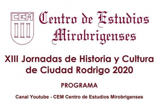 Convocadas XIII Jornadas de Historia y Cultura de Ciudad Rodrigo 2020