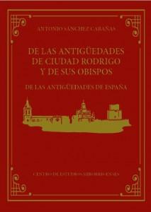 DE LAS ANTIGUEDADES DE CIUDAD RODRIGO_Portada